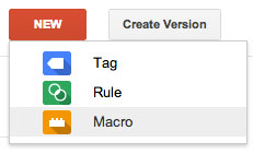 google-tag-manager create new macro