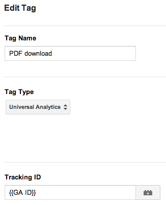 google tag manager track pdf download