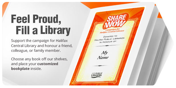 halifax library fundraising campaign