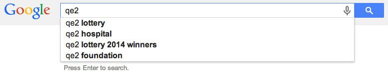 qe2 google search