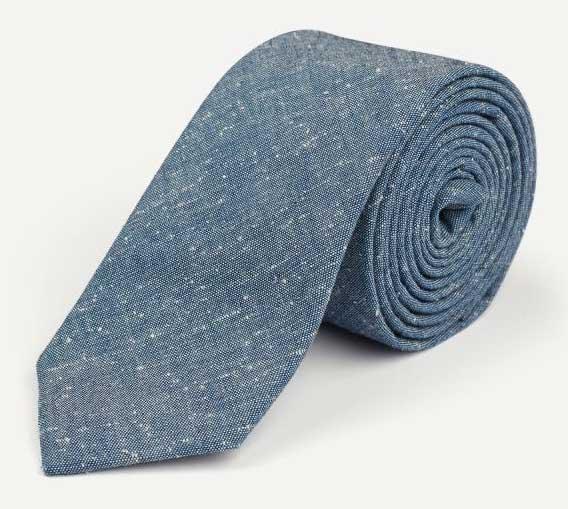 trendy tie with neps