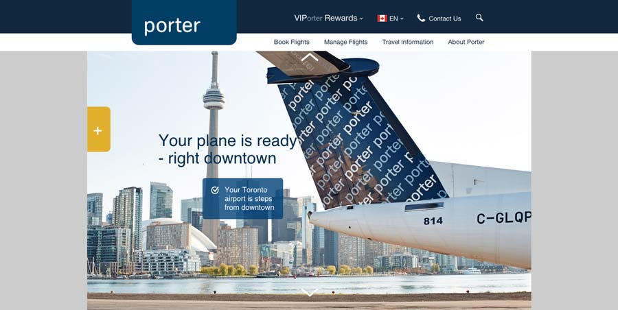 Flying-Refined-Porter-Airlines